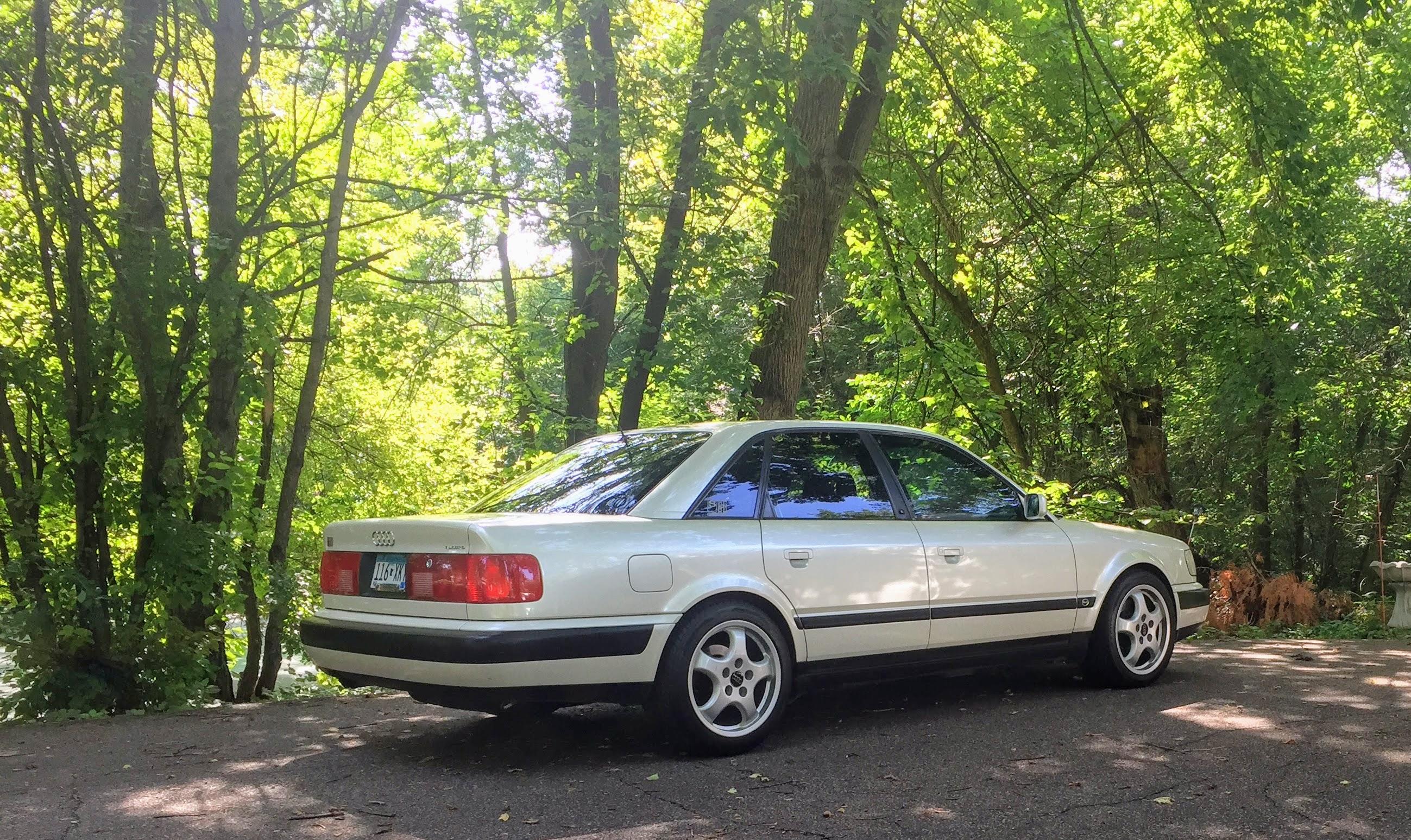 coal 1993 audi s4 my 19th vehicle so far in this series but the rh curbsideclassic com Audi 100 Wagon Audi 100 CS Quattro