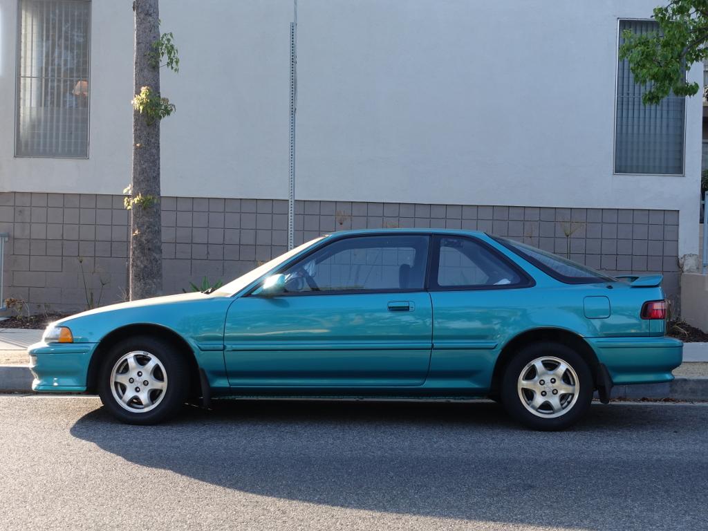 on 1991 Acura Integra 4 Door