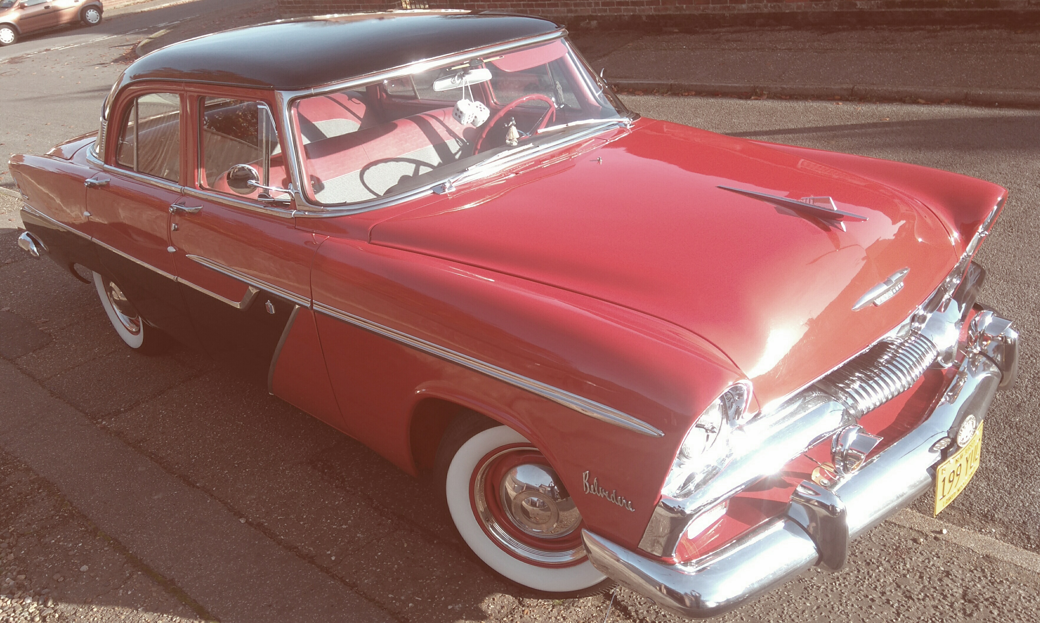 Curbside Classic The Elusive 1955 Plymouth Savoy 1950 To Cars A 4 Door Sedan And Running 6 Cyl Flathead Powerflite Transmission Great Car Here In England Its Very Rare Imported From York Pn Usa 2011