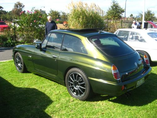 Curbside Classic: MG R V8 - The Ultimate Classic MG