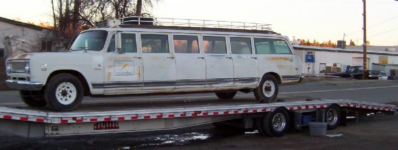 lincoln limousine te koop