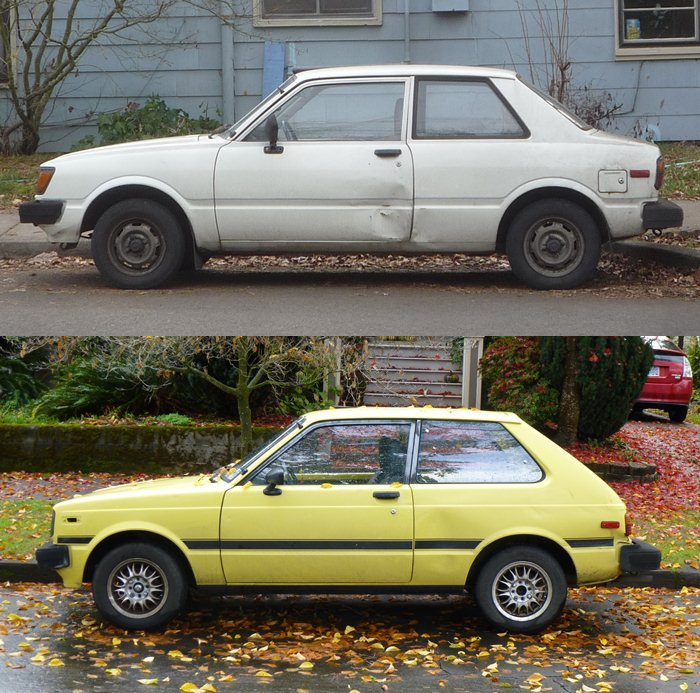 Curbside Classic: 1981 Toyota Starlet –The Last Of The Littlest RWD ...