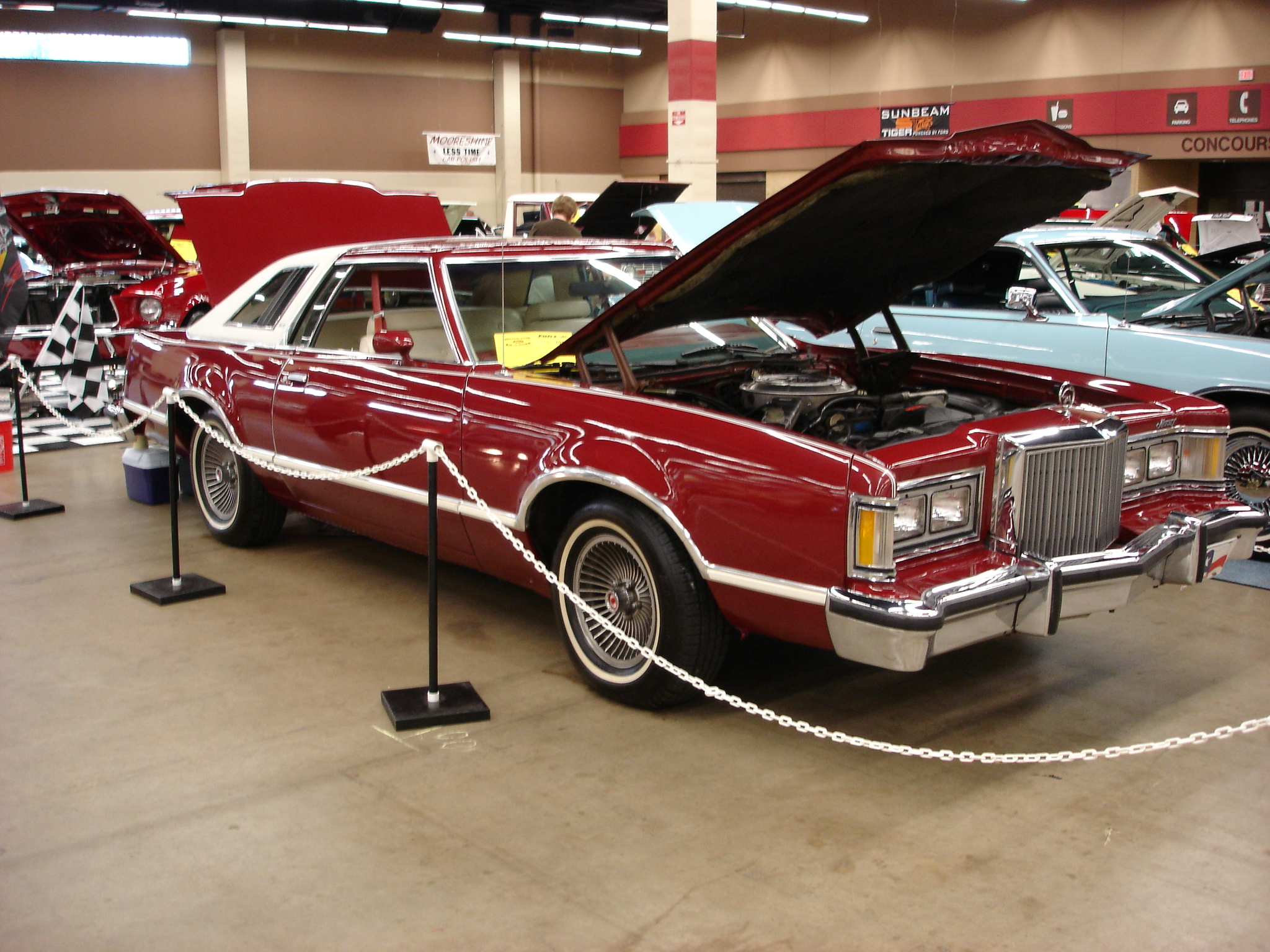 Car Lot Classic 1980 Mercury Cougar XR7  That Very Common