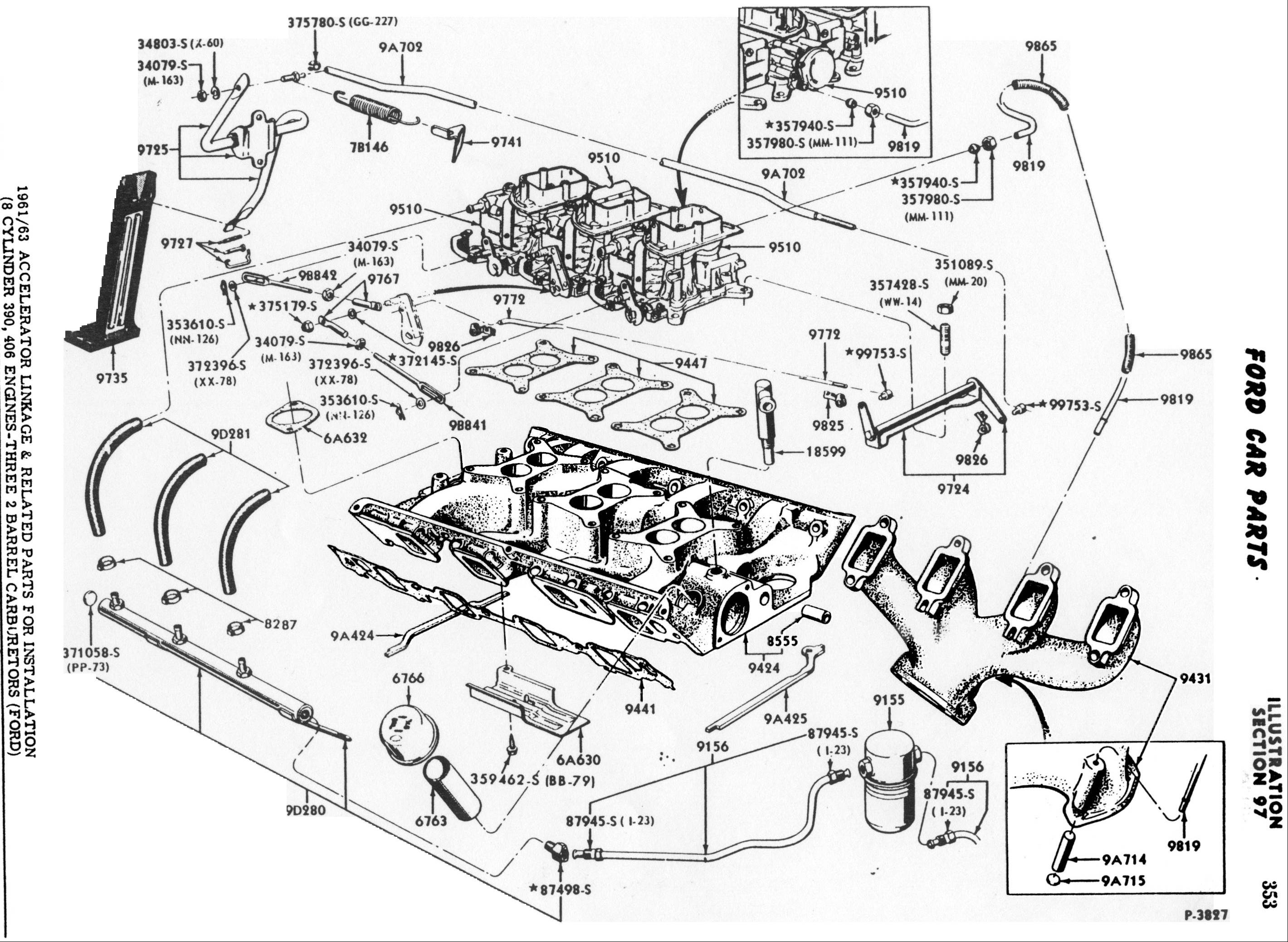 144707 Upgrading 300 Carb Straight Six Pics likewise 1152980 Vacuum Lines also 2409 Ford Bronco 58 key 8 together with Watch together with Camaro Wiper Switch Location. on ford 351w vacuum diagram