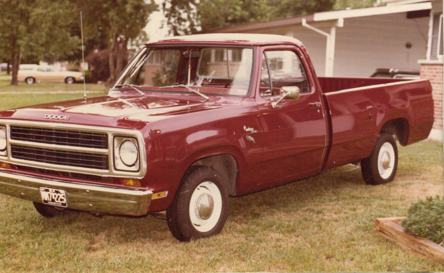 CC Capsule: 1980 Dodge D-series Adventurer – The Essence of a Truck