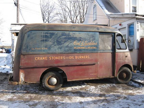 Cohort Classic 1958 International Metro The Original And Greatest Step Van