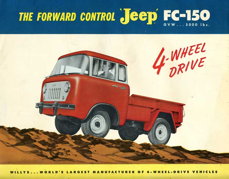Automobiles you don't see everyday... - Page 2 Jeep-FC-150-truck