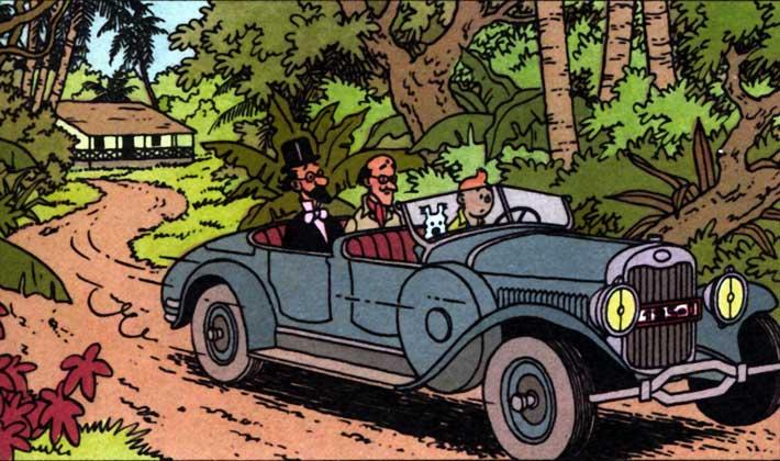 Tintin 1930 Lincoln