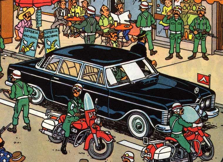 Tintin Limo