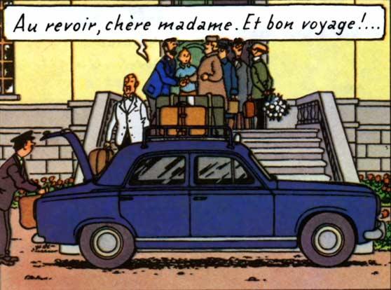 Tintin Peugeot403