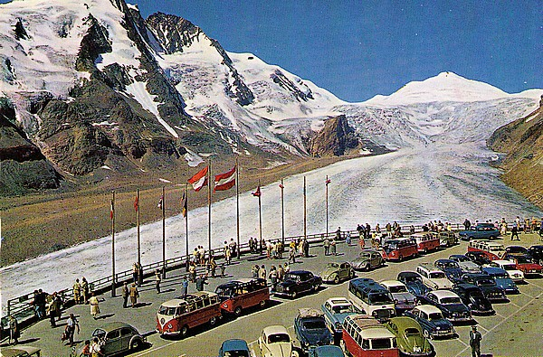 alpine pass grossglockner 1