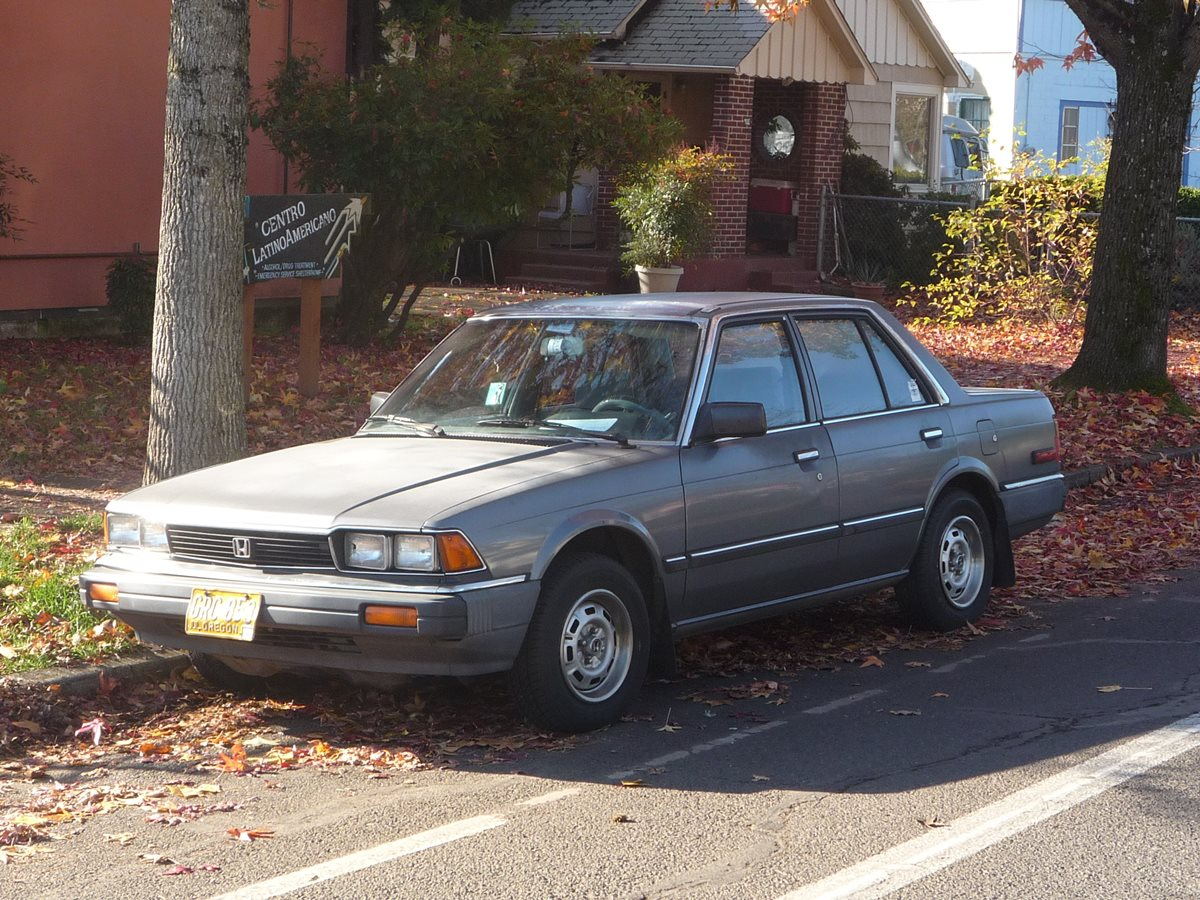 Houston Car Sales Climbed Prices Fell In March: Curbside Classic: 1983 Honda Accord