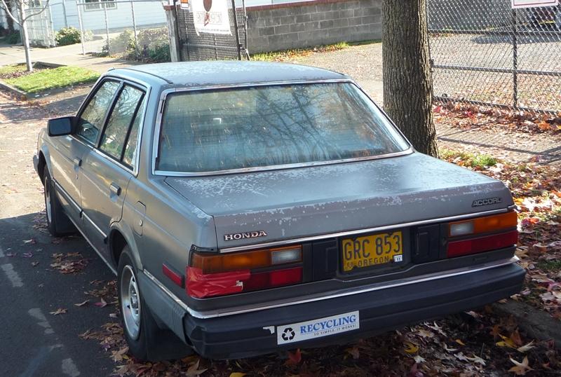 Curbside Classic: 1982 Honda Accord - Honda Revolutionizes ...