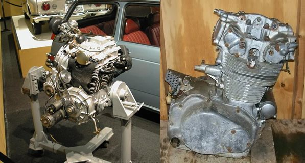 Honda N600 engine-horz