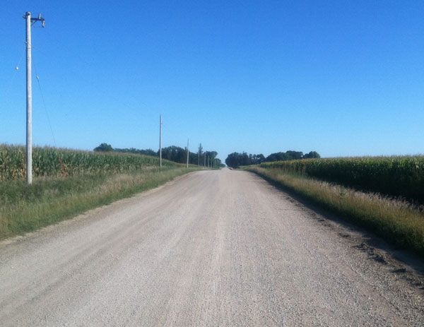 Iowa Gravel-Road