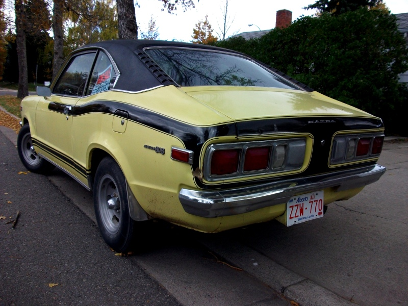 Coal 1973 Mazda 808 Coupe Piston Powered And Groovy