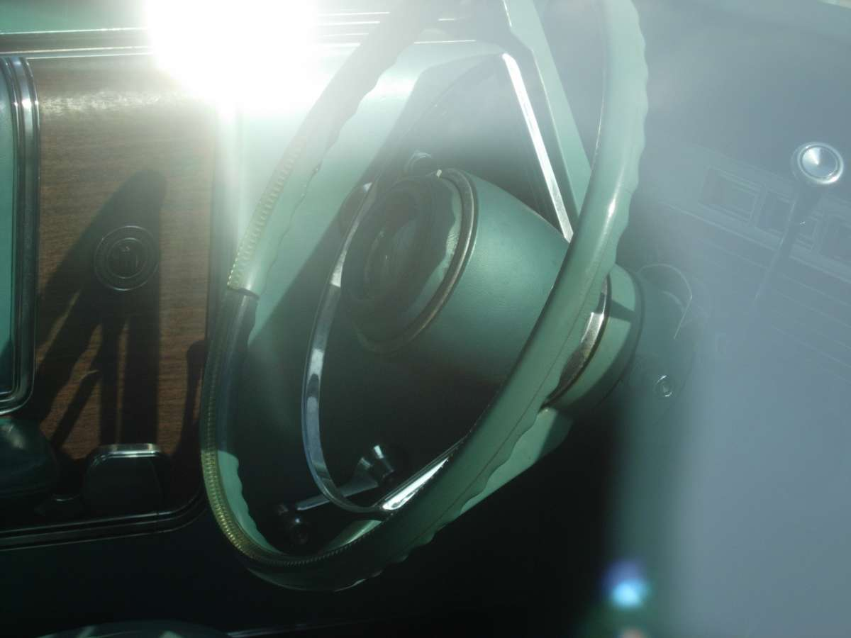The 1967-only steering wheel