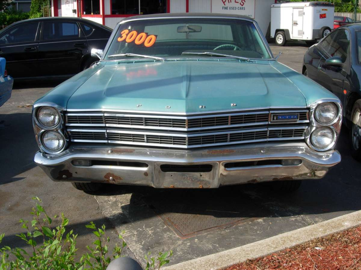 to the 67 Cadillac.