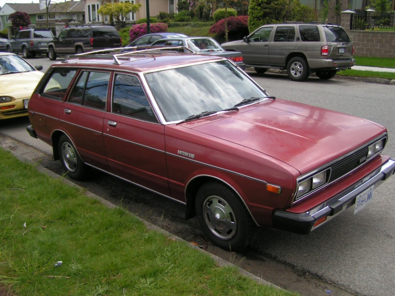Curbside Classic: 1979 Datsun 510 – Revived In Name If Not ...
