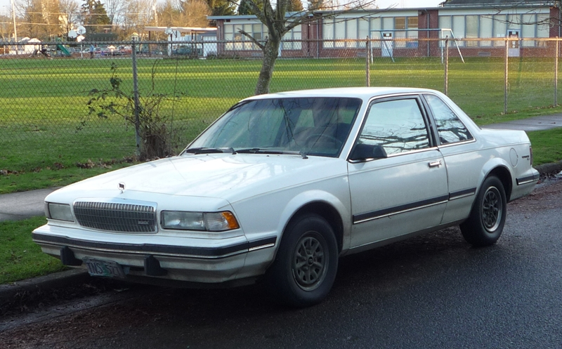 Curbside Classic: 1990 Buick Century Coupe – If We Make It Forever ...