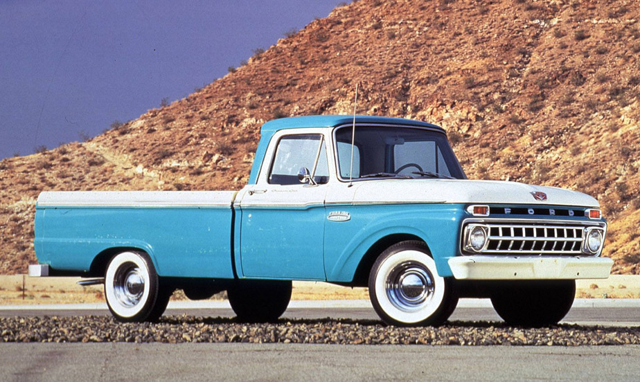 Classic: 1962 Ford Styleside F-100 Pickup – That Most Feminine Truck