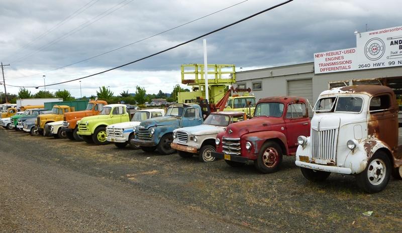 Old Semi Trucks for Sale