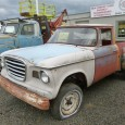 (first posted 7/6/2011) No, this multi-hued Studebaker Champ is not trying to be artistic. Its cab appears to have been stitched together out of a number of junkyard Champs (Anderson […]