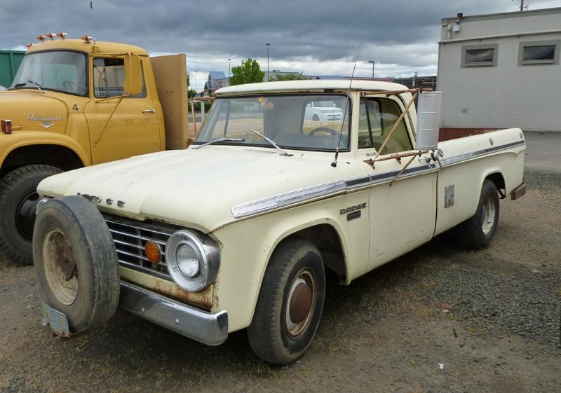 Truckstop Classic 1967 Dodge D 200 Camper Special We Re