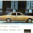 A new entry to the eventual CC Complete Guide to the Great Brougham Epoch: the 1968 Holden Brougham. I didn't realize that Brougham fever spread so rapidly and so far; […]