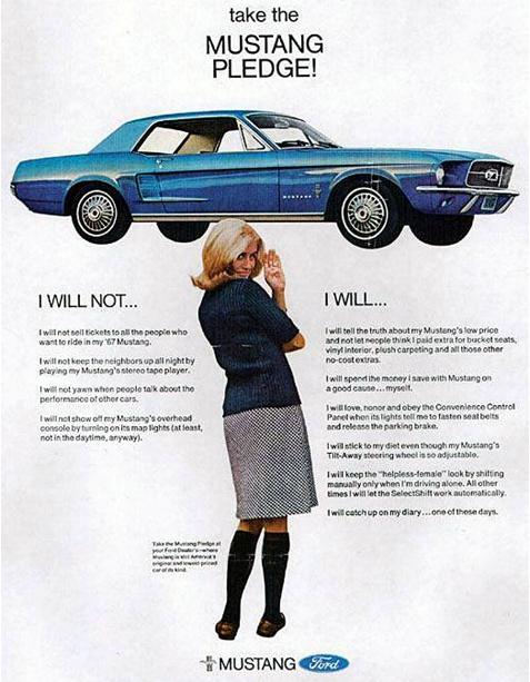 Mustang Ad 67
