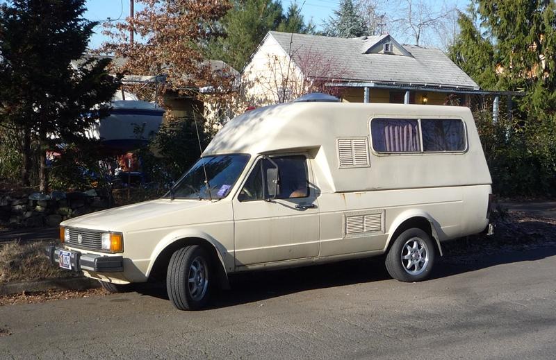 cc capsule vw diesel pickup caddy camper the veggie bago. Black Bedroom Furniture Sets. Home Design Ideas
