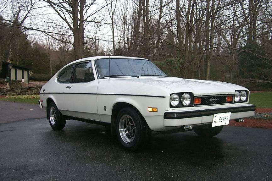 Classic Curbside Classic 1971 1978 Capri Ponycar Reborn