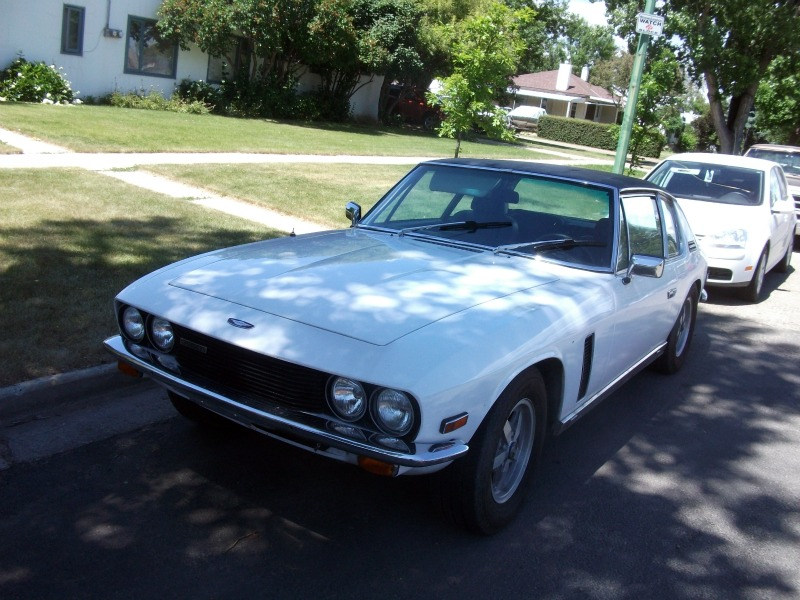 the Jensen Interceptor has