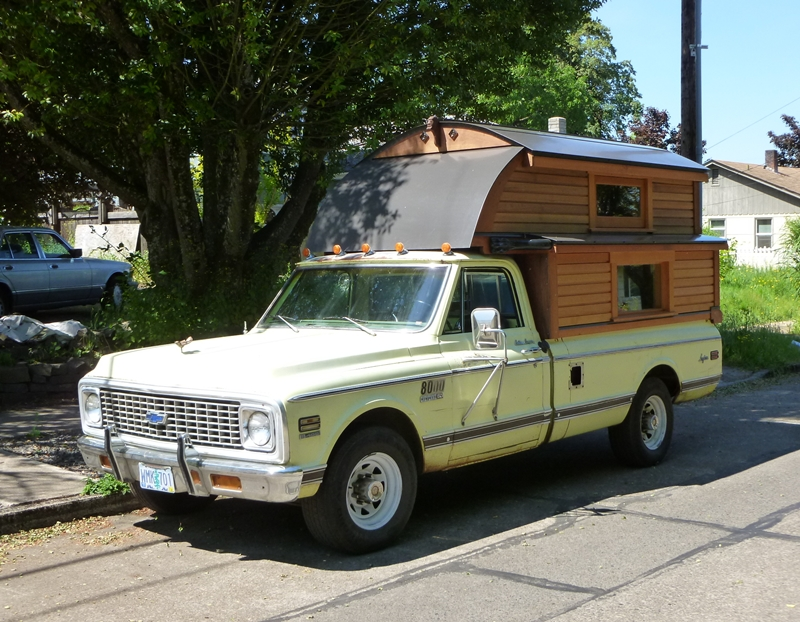 CC Capsule: 1972 Chevrolet C30 Longhorn Custom Camper – Very Aptly ...