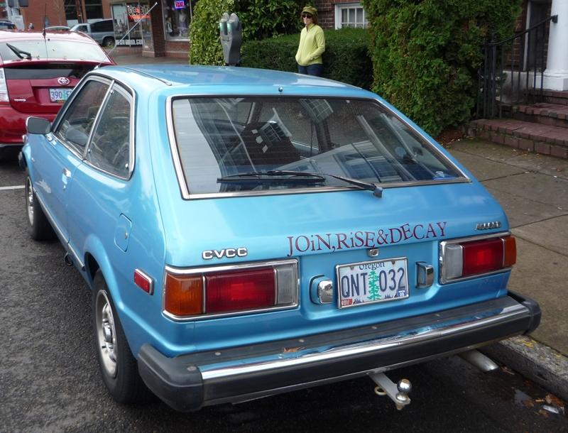 Curbside Classic: 1976 Honda Accord - Modern Architecture