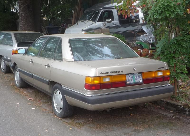 1985 Audi 5000 - Information and photos - MOMENTcar