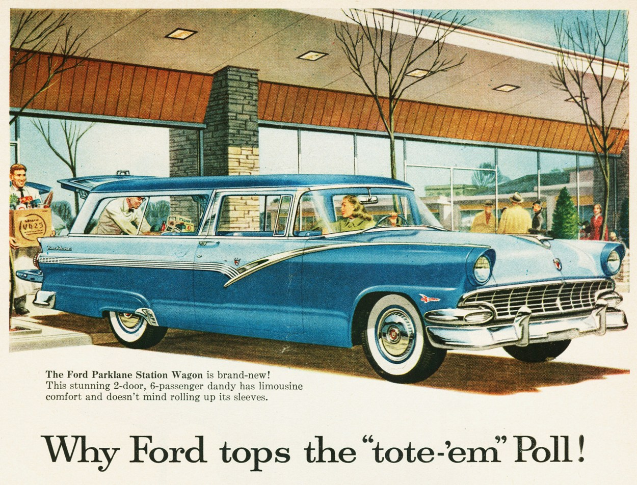 1956 Ford Fairlane Station Wagon
