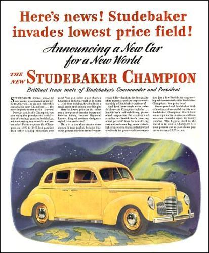 Automotive History: 1957-1958 Studebaker Scotsman
