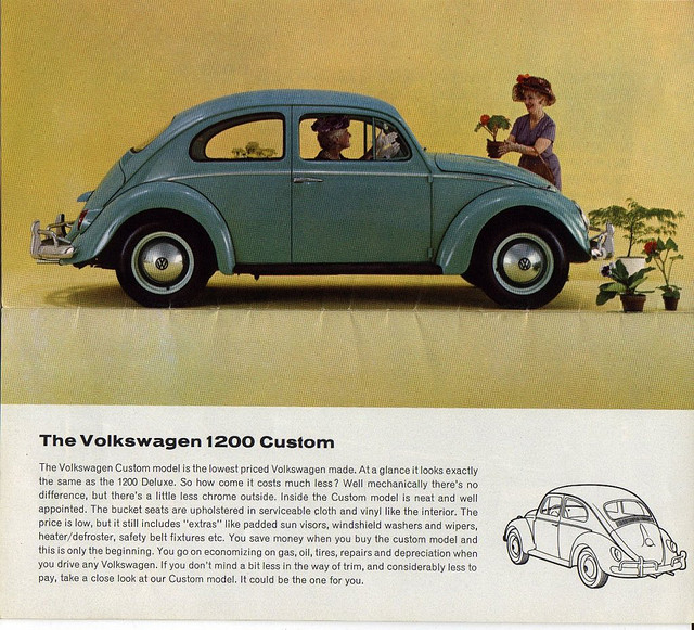 Coal 1962 Volkswagen Beetle Canadian Standard Another