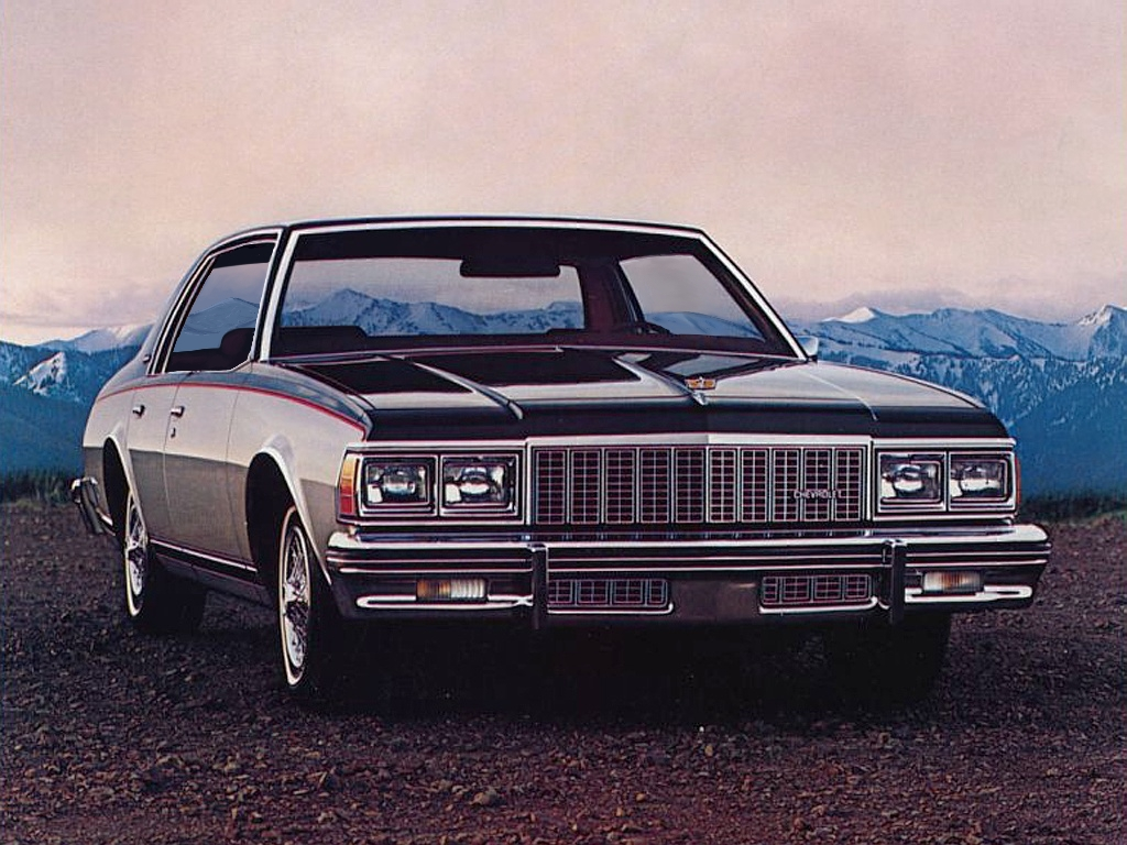 What If Downsized Chevrolet Caprice Hardtop