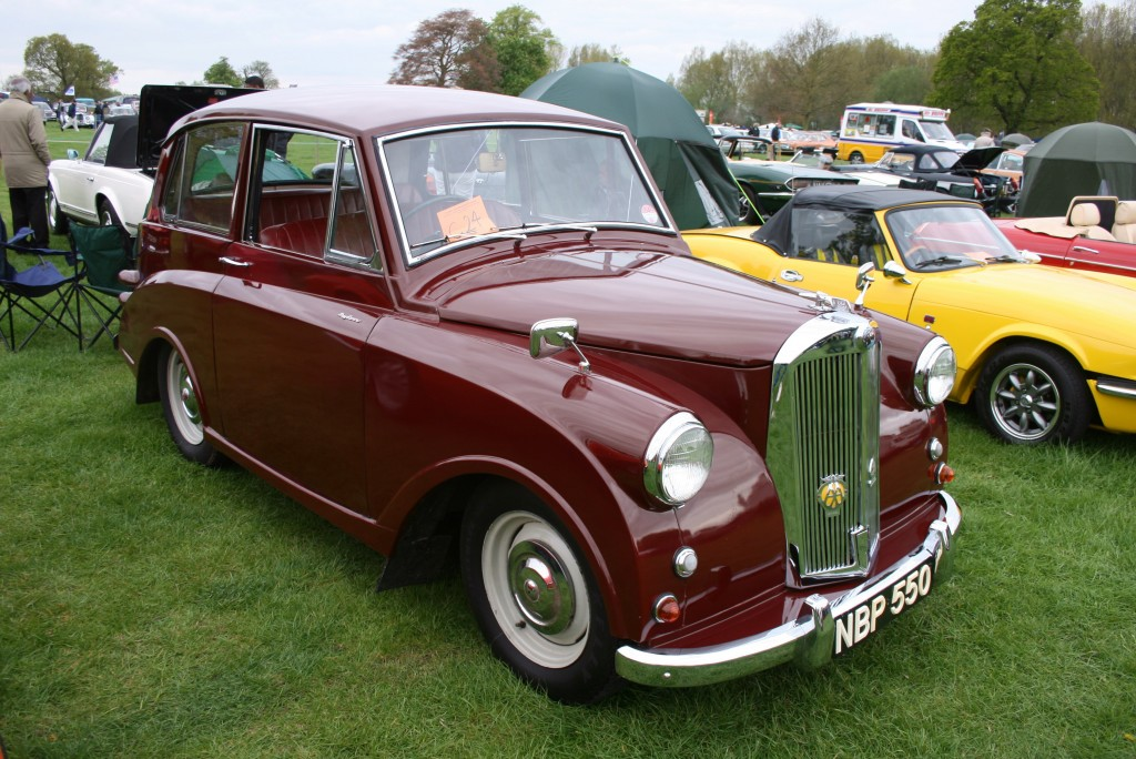 1949 triumph mayflower your thanksgiving turkey for Triumph motor cars for sale