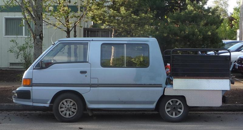 Curbside Classic: Mitsubishi Van-Up