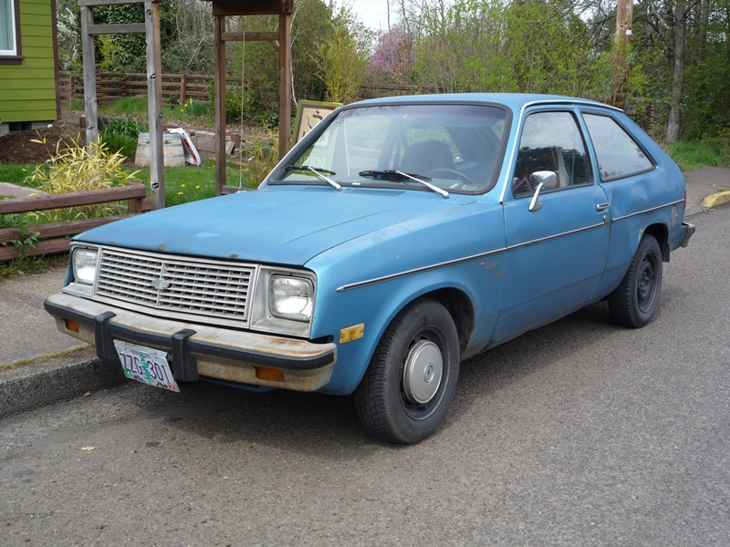 Curbside Classic: 1980 Chevette Scooter – A New Category ...