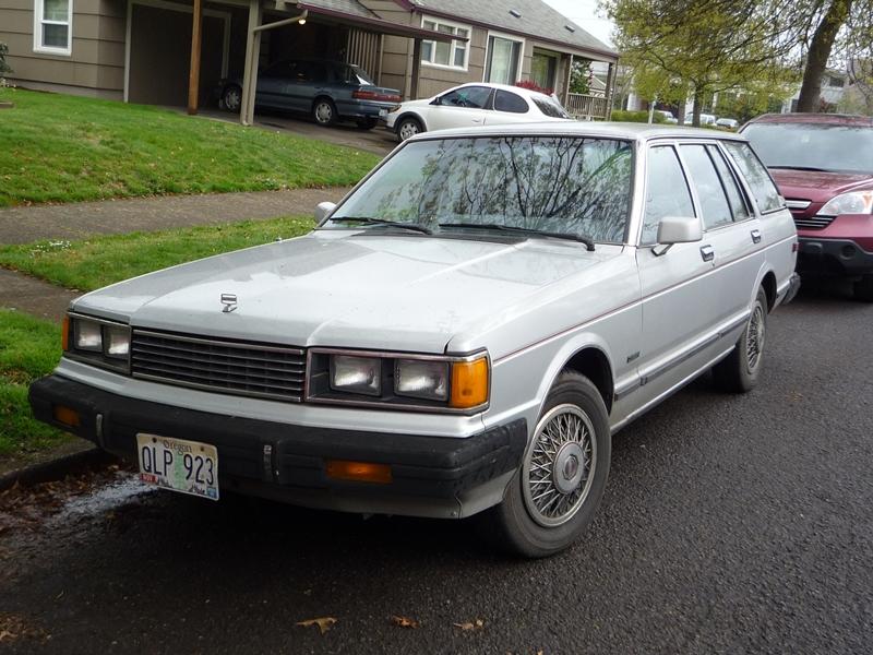 Curbside Classic: 1982 Datsun (Nissan) Maxima (810) Diesel Wagon ...
