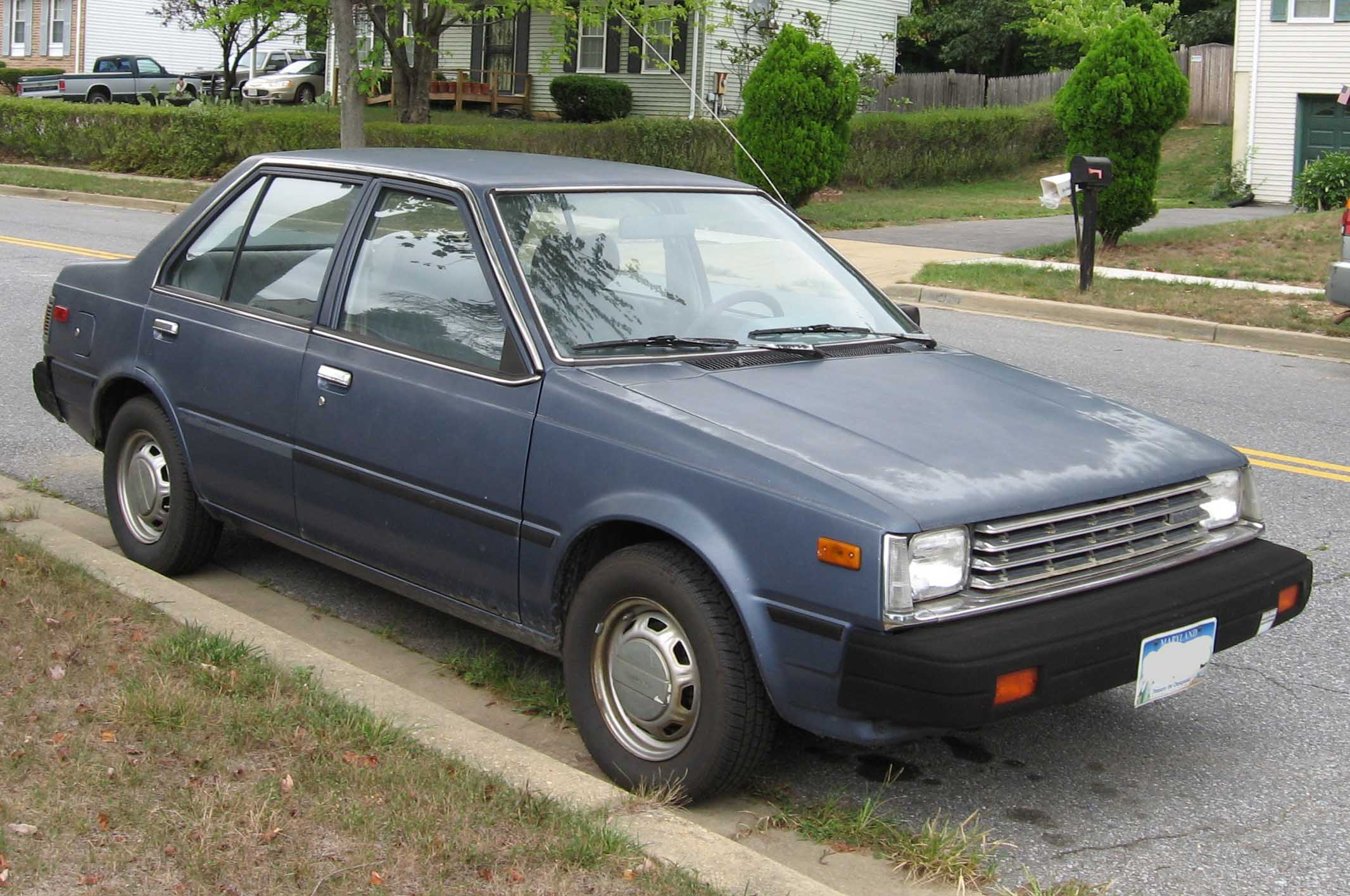 Curbside Classic 1983 86 Nissan Pulsar Nx Staying Sharp