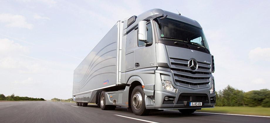 Mercedes COE truck
