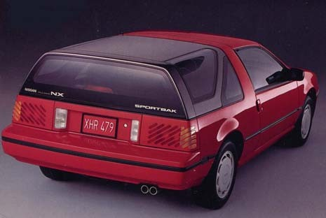 Curbside Classic: 1983-86 Nissan Pulsar NX: Staying Sharp ...