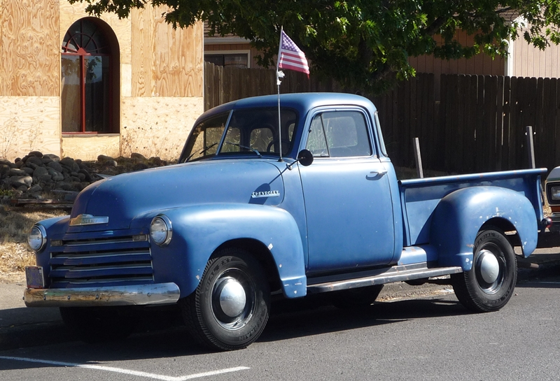"Curbside Classic: 1951 Chevrolet 3100 ""Advanced Design"" Pickup"