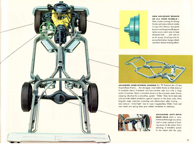 1957 Cadillac Chassis Design - General Discussion - Antique ...