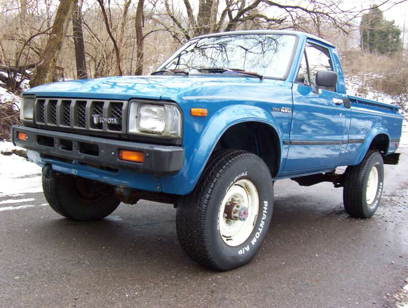 Toyota Van 4x4 For Sale Craigslist >> Cars Of A Lifetime: 1982 Toyota 4×4 Pickup – How The Japanese Do Four Wheel Drive
